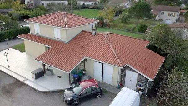 Rénovation toiture Saint André de Cubzac